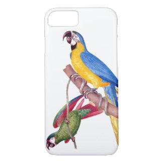 コンゴウインコのオウムの鳥の野性生物動物装置場合 iPhone 8/7ケース