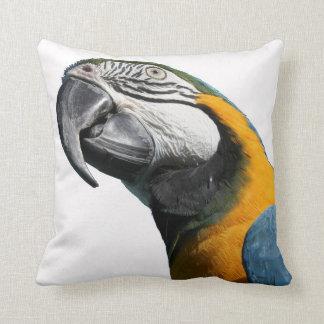 コンゴウインコの鳥の枕 クッション