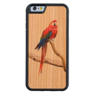 コンゴウインコのiPhone6ケース CarvedチェリーiPhone 6バンパーケース