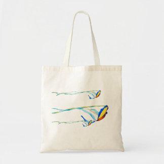 コンゴウインコ凧 トートバッグ