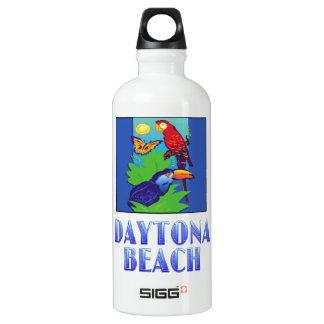 コンゴウインコ、オウム、蝶及びジャングルDAYTONA BEACH ウォーターボトル