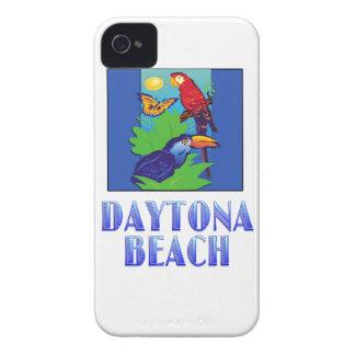 コンゴウインコ、オウム、蝶及びジャングルDAYTONA BEACH Case-Mate iPhone 4 ケース
