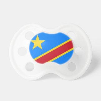 コンゴ共和国の世界の旗 おしゃぶり