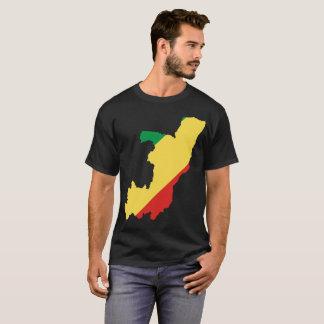コンゴ共和国の国家のTシャツ Tシャツ