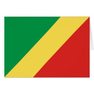 コンゴ共和国の旗 カード
