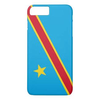 コンゴ民主共和国の旗 iPhone 8 PLUS/7 PLUSケース