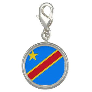 コンゴ-コンゴ共和国の旗 チャーム