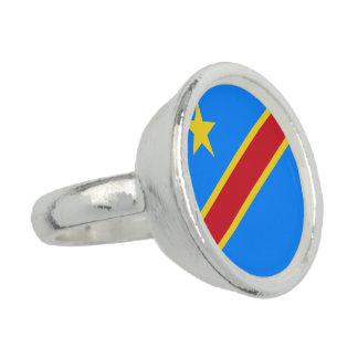 コンゴ-コンゴ共和国の旗 指輪