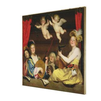 コンサート1624年 キャンバスプリント