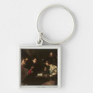コンサート、c.1610-20 (キャンバスの油) キーホルダー