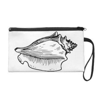 コンシュの貝のスケッチ リストレット