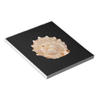 コンシュの貝のメモ帳 ノートパッド