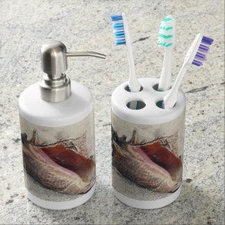 コンシュの貝の浴室セット バスセット