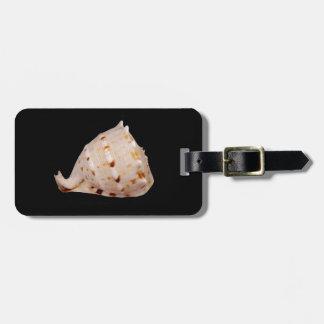 コンシュの貝の荷物のラベル ラゲッジタグ