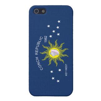 コンシュ共和国の旗 iPhone 5 カバー