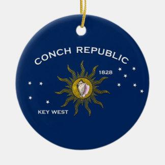 コンシュ共和国Key West セラミックオーナメント