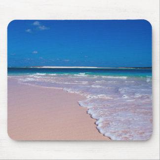 コンシュ湾、猫の島のピンクの砂のビーチ、 マウスパッド