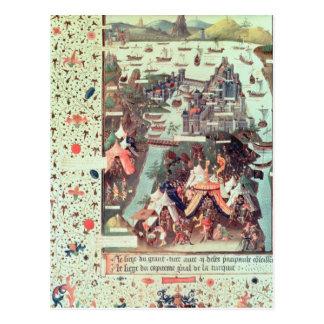 コンスタンチノープルの包囲 ポストカード