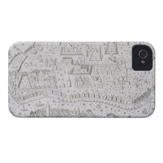 コンスタンチノープル、トルコ、c.1650 (engravの町の地図 Case-Mate iPhone 4 ケース