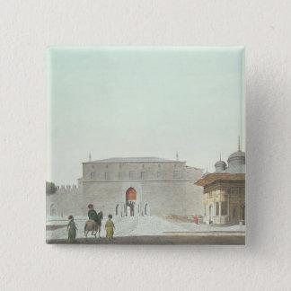 コンスタンチノープル: fを示すHaghia Sophiaスクエア 5.1cm 正方形バッジ