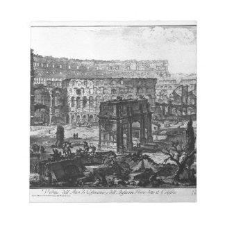 コンスタンチーヌおよびFlavianのアーチの眺め ノートパッド