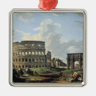コンスタンチーヌのColosseumそしてアーチ メタルオーナメント