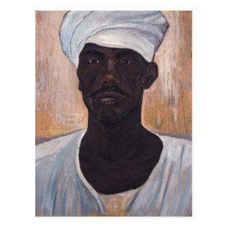 コンスタンチーヌMaleas著黒人男性 ポストカード