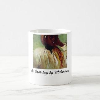 コンスタンチーンMakovsky著アラビアの男の子 コーヒーマグカップ