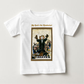 コンダクター/Childディレクターののためのワイシャツ ベビーTシャツ