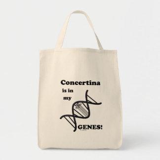 コンチェルティーナは私の遺伝子にあります トートバッグ