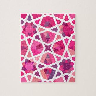 コンテンポラリーなイスラム教パターン ジグソーパズル