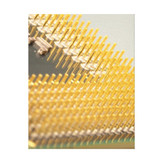コンテンポラリーなコンピュータ・アート: 中央処理装置 キャンバスプリント