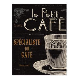 コンテンポラリーなコーヒー ポストカード