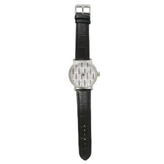 コンテンポラリーな水彩画デザイナー腕時計 ウオッチ