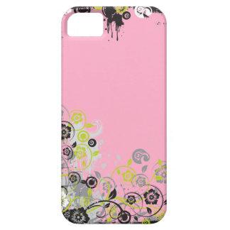 コンテンポラリーな花柄 iPhone SE/5/5s ケース