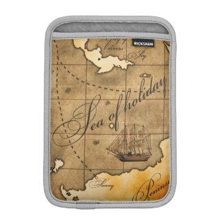 コンパスおよび地図のiPad Miniの垂直 iPad Mini スリーブ