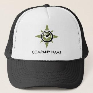 コンパスのカスタマイズ可能な帽子 キャップ