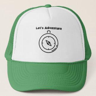 コンパスの帽子を冒険しよう キャップ