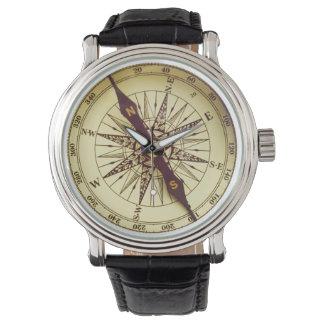 コンパス 腕時計
