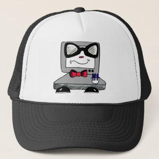 コンピュータおたくのギークの帽子 キャップ
