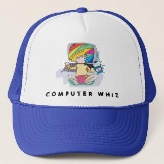コンピュータやり手 キャップ