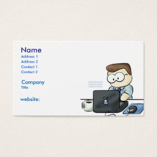 コンピュータオタクの名刺 名刺