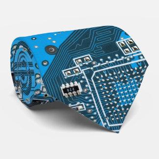 コンピュータギークのサーキットボード-青 オリジナルタイ