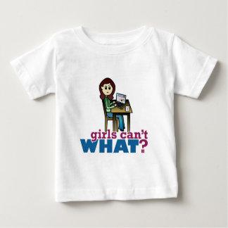 コンピュータギーク-ライト ベビーTシャツ