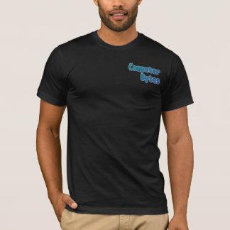 コンピュータバイトのTシャツ Tシャツ