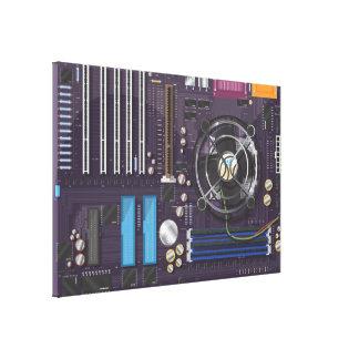 コンピュータマザーボード キャンバスプリント