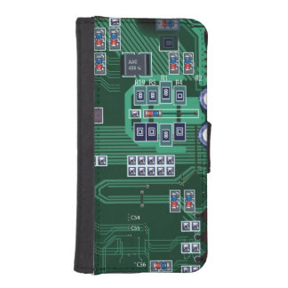 コンピュータマザーボード iPhoneSE/5/5sウォレットケース