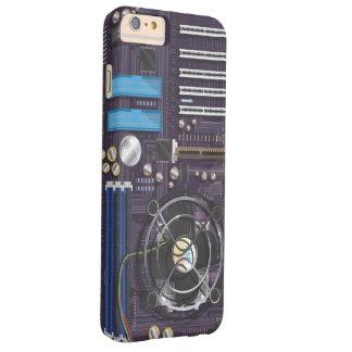 コンピュータマザーボードCPU BARELY THERE iPhone 6 PLUS ケース