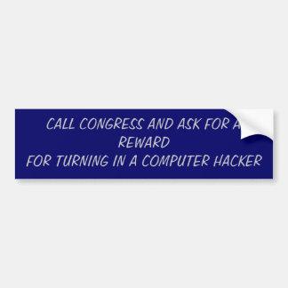 コンピューターの安全性 バンパーステッカー