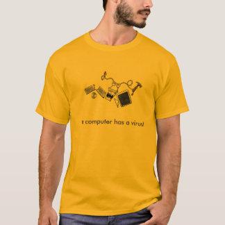 コンピューターウイルス Tシャツ